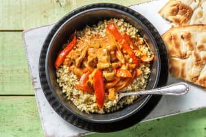 Curry de poulet express & riz de chou-fleur image