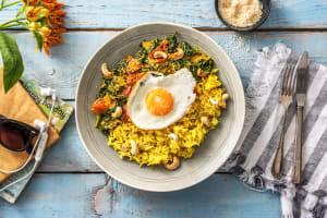 Curry d'épinards à la noix de coco image