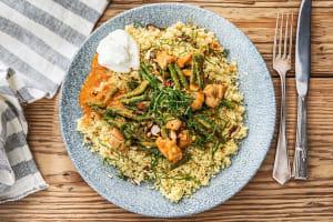 Curry met kip en sperziebonen image