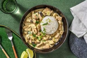 Curry thaï vert végétarien image