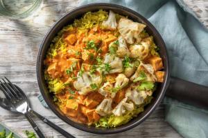 Vegetarische tofu curry image