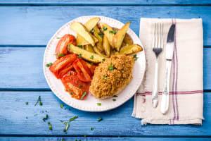 Mozzarella-Crusted Chicken image