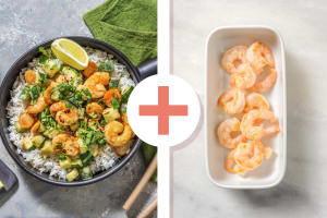 Double Prawn Thai-Style Green Curry image