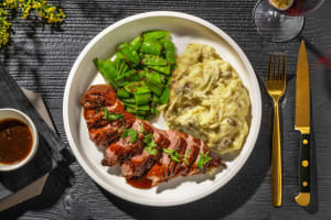 Duck Breast and Fig Sauce image
