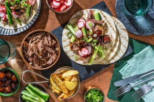 Duck Tacos and Plum Sauce image