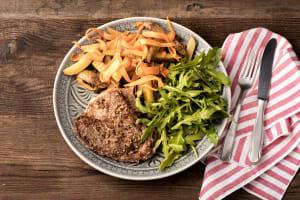 Dukkah Crusted Lamb Steaks image