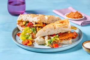 Dukkah-Makali! Würziges Grillgemüse im Brot image