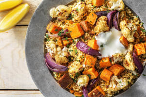 Dukkah-Roasted Cauliflower image