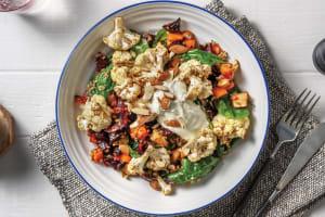 Dukkah-Roasted Cauliflower & Freekeh Salad image
