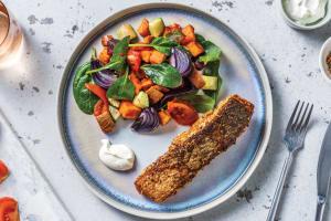 Dukkah Salmon & Garlic Yoghurt image