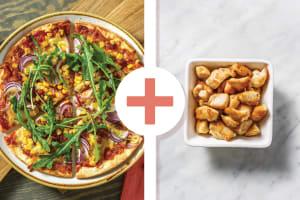 Easy BBQ Chicken & Bacon Pizza image