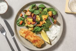 Easy Herbed Crumbed Salmon image