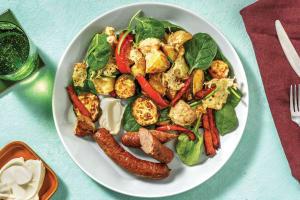 Easy Pork & Herb Sausages image