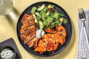 Easy Spiced Pork & Honey Pumpkin Wedges image
