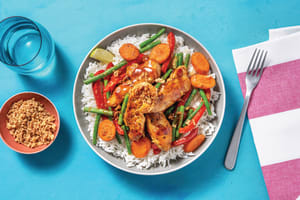 Easy Sweet Chilli Chicken Bowl image