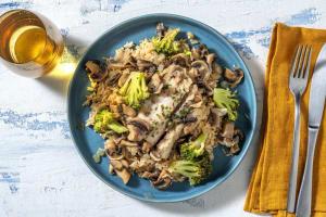 Schelvis in romige champignonmarinade image