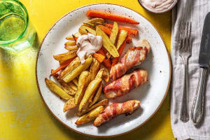 Einfache Bacon-Hähnchen-Sticks image
