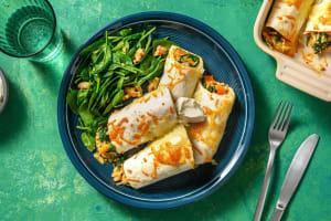 Enchilada's met pompoen en cheddar image