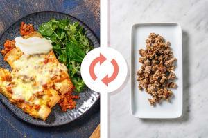 Turkey and Ricotta Enchiladas image