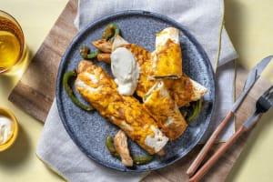 Cheesy Chicken Enchiladas image