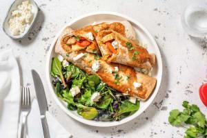 Enchiladas poulet, poivron & feta image