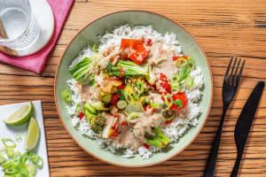 Erdnuss-Kokos-Bowl mit Pak Choi image