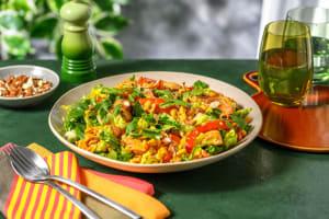 Fajita-Salat mit Hähnchen & Limettendressing image