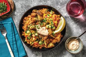 Falafel Bite & Tex-Mex Rice Bowl image