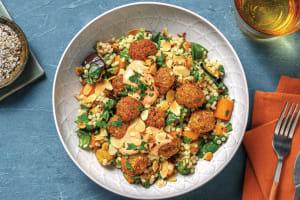 Falafel & Israeli Couscous Bowl image