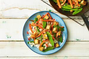 Fein asiatisch: Tofu-Gemüse-Bratpfanne image
