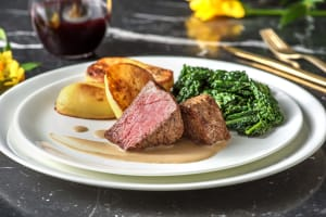 Pan Fried Fillet Steak image