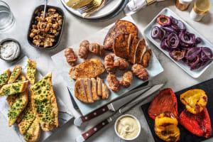 Fleischplatte mit Bacon-Minibouletten image