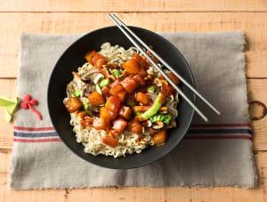 Foe yong hai met Oosterse groenten image