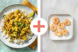 Fragrant Chicken  and Prawn Curry image