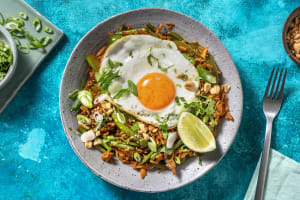 Fried Egg and Spicy Rice image