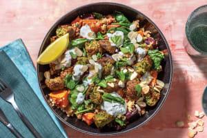 Falafel & Spiced Roast Veggie Couscous image