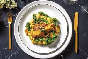 Bengali Salmon & Turmeric Veggies image