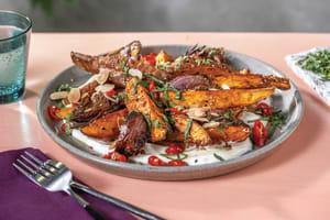 Dukkah Roasted Sweet Potato image