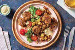 Garlic & Herb Parmesan Rissoles image