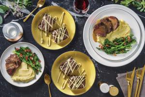 Garlic-Herb Roast Beef & Homestyle Gravy image