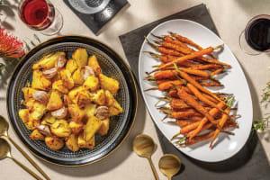 Garlic & Rosemary Roasted Potatoes image