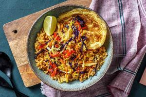 Gebakken Balinese groenterijst image