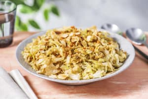 Ginger Garlic Butter Cabbage image