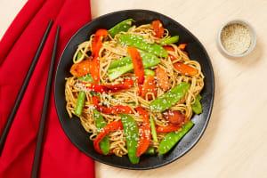 Ginger Soy Noodle Stir-Fry image