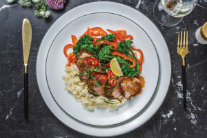 Glazed Thai Pork Fillet image
