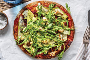 Goat Cheese & Caramelised Onion Pizza image