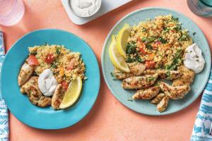 Garlic & Herb Chicken & Veggie Couscous image