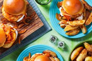 Smoked Gouda Pork Burgers image