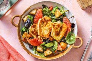 Grapefruit and Halloumi Salad image