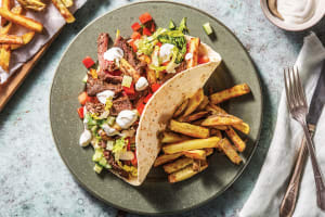 Build-Your-Own Beef Gyros image